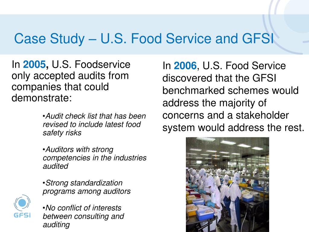 PPT - Global Food Safety Initiative - Harmonising Food