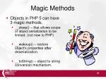 magic methods