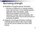 borrowing strength