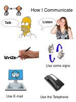 how i communicate