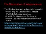 the declaration of independence16