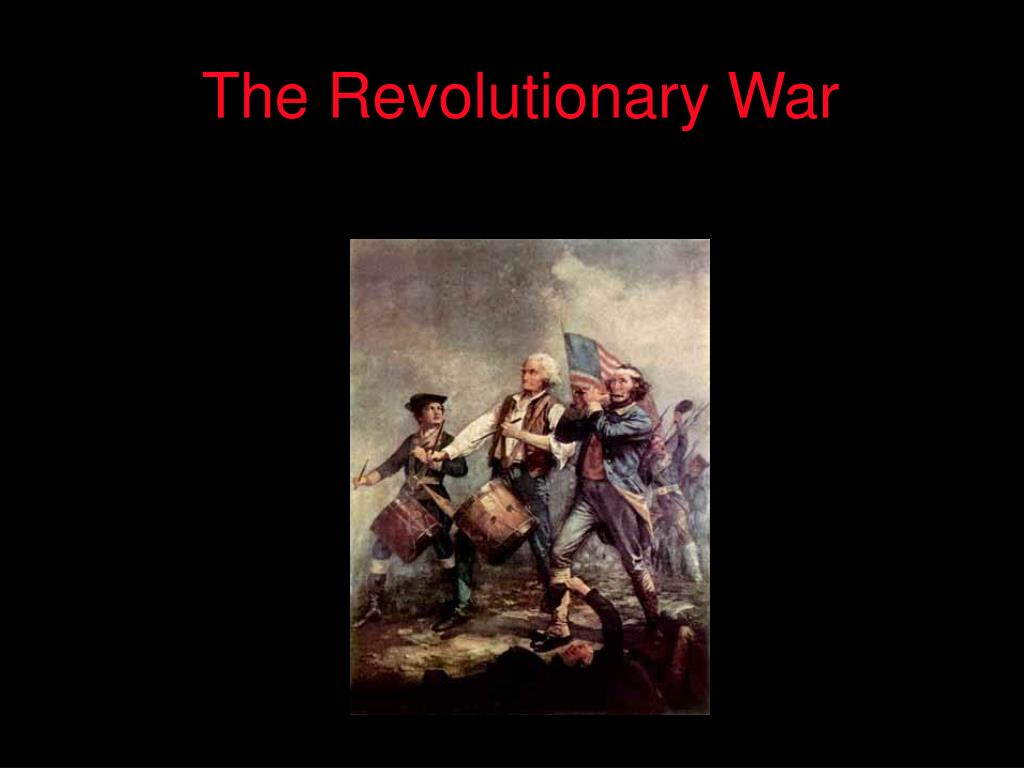 the revolutionary war l.