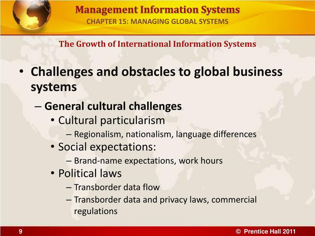 "information systems chapter 9 global informartion systems Strategies for global information systems development by: murad akmanligil, prashant c palvia akmanligil, m and palvia, p ""strategies for global information."