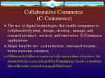 collaborative commerce c commerce