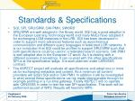 standards specifications17