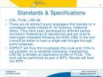 standards specifications18