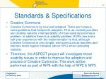 standards specifications22