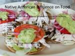 native american influence on food