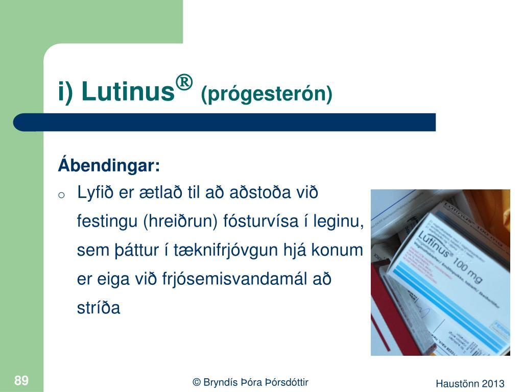 i) Lutinus
