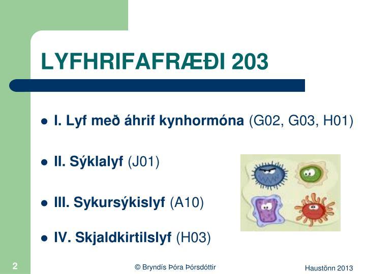 Lyfhrifafr i 2032