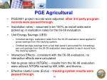 pge agricultural