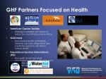 ghf partners focused on health