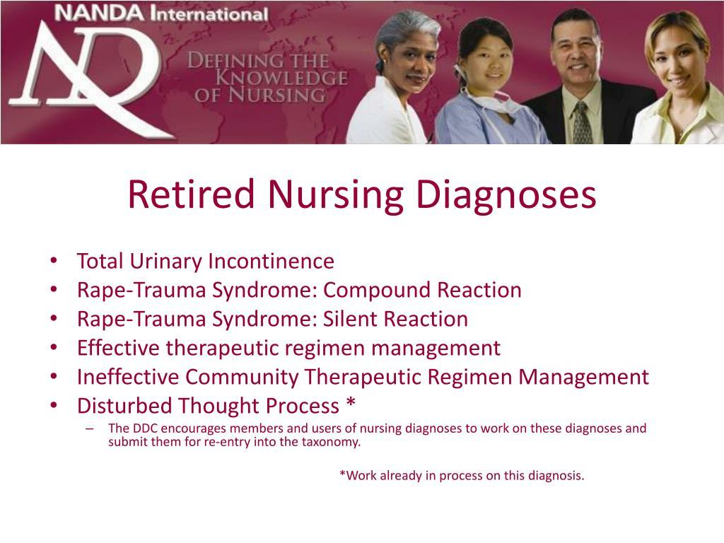 Retired Nursing Diagnoses