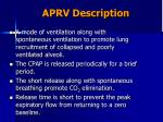 aprv description