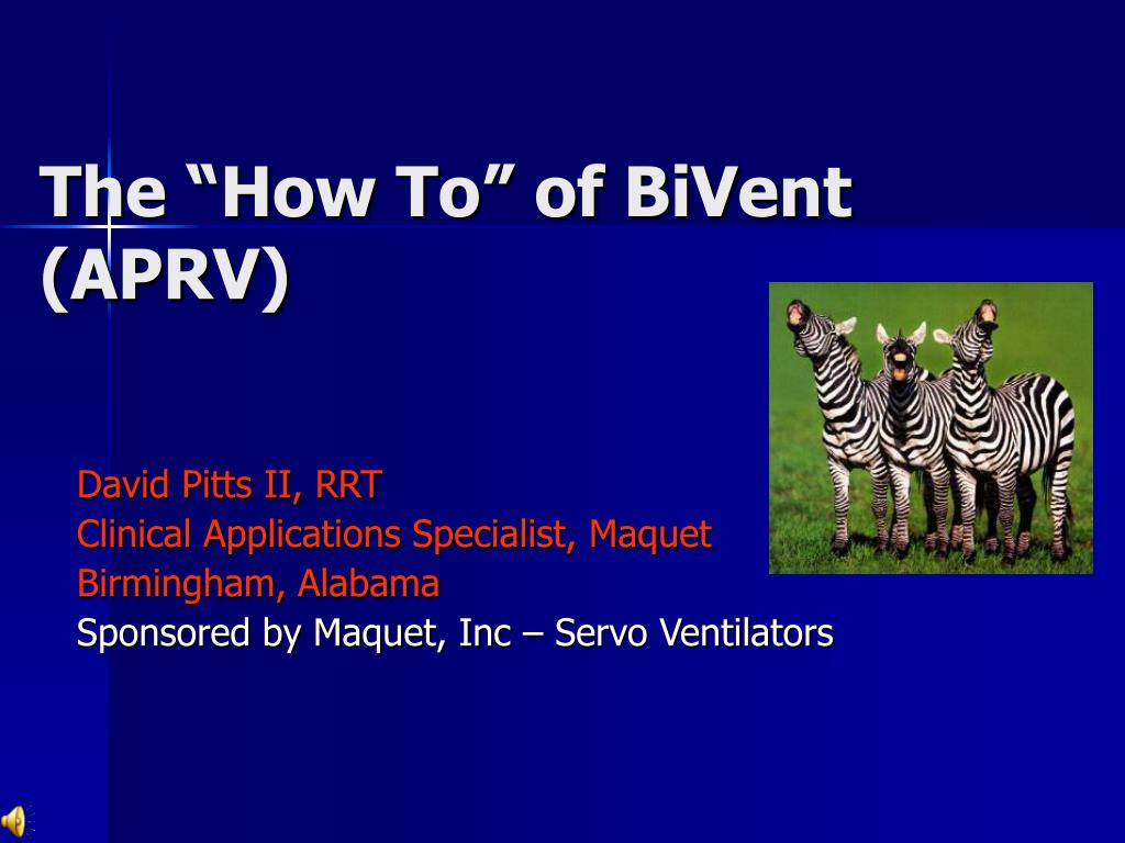 the how to of bivent aprv l.