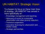 un habitat strategic vision6