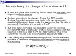 jevons s theory of exchange a formal statement 2