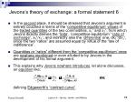 jevons s theory of exchange a formal statement 6