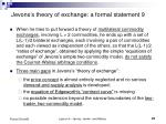 jevons s theory of exchange a formal statement 9