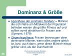 dominanz gr e3