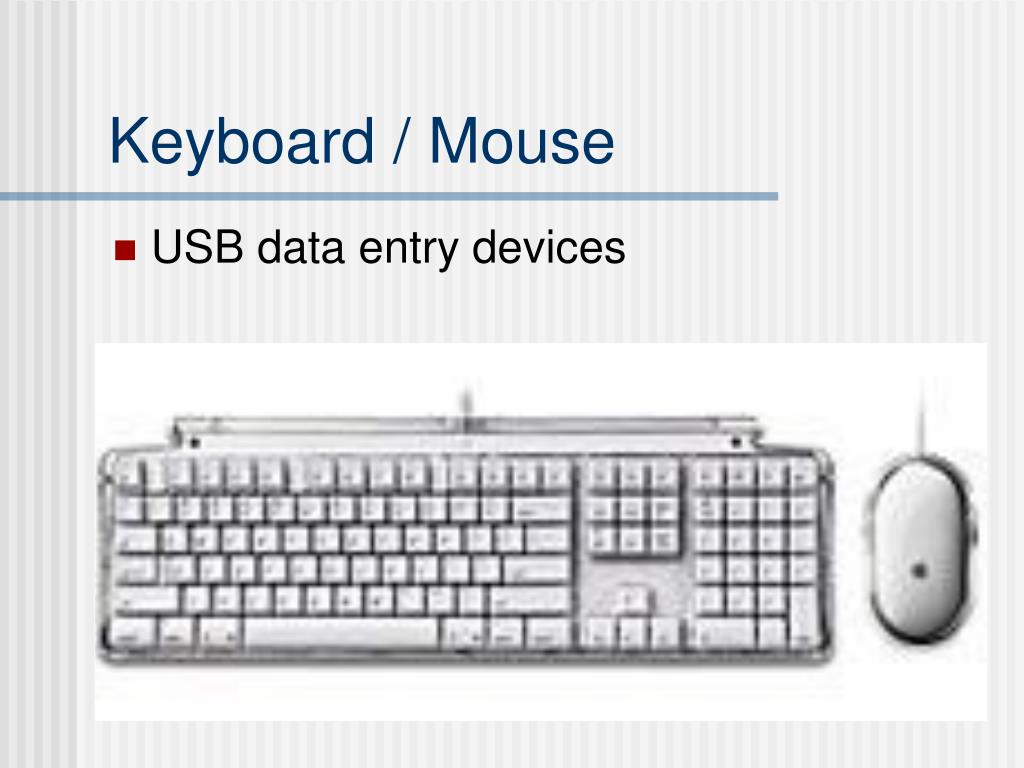Keyboard / Mouse