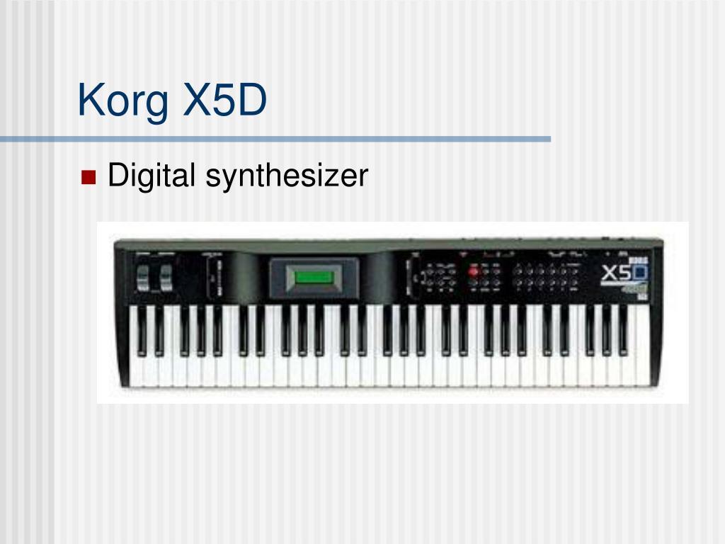 Korg X5D