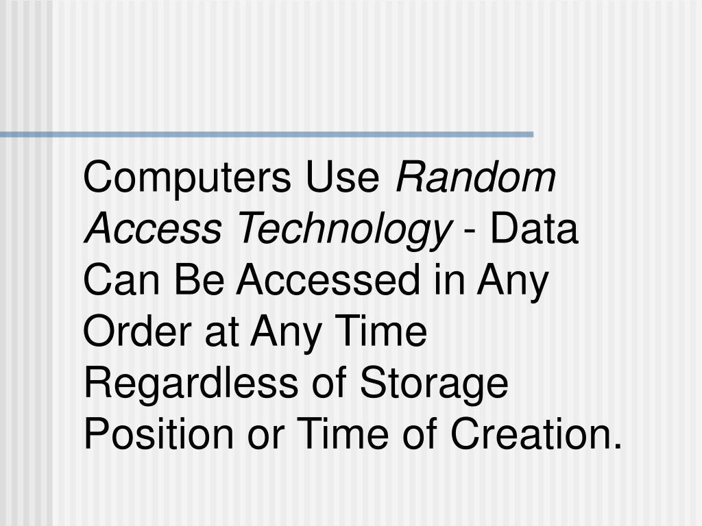 Computers Use