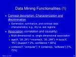 data mining functionalities 1