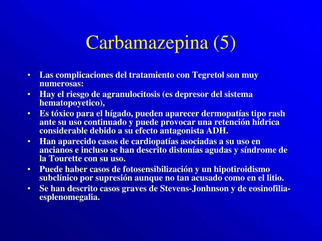 Carbamazepina (5)