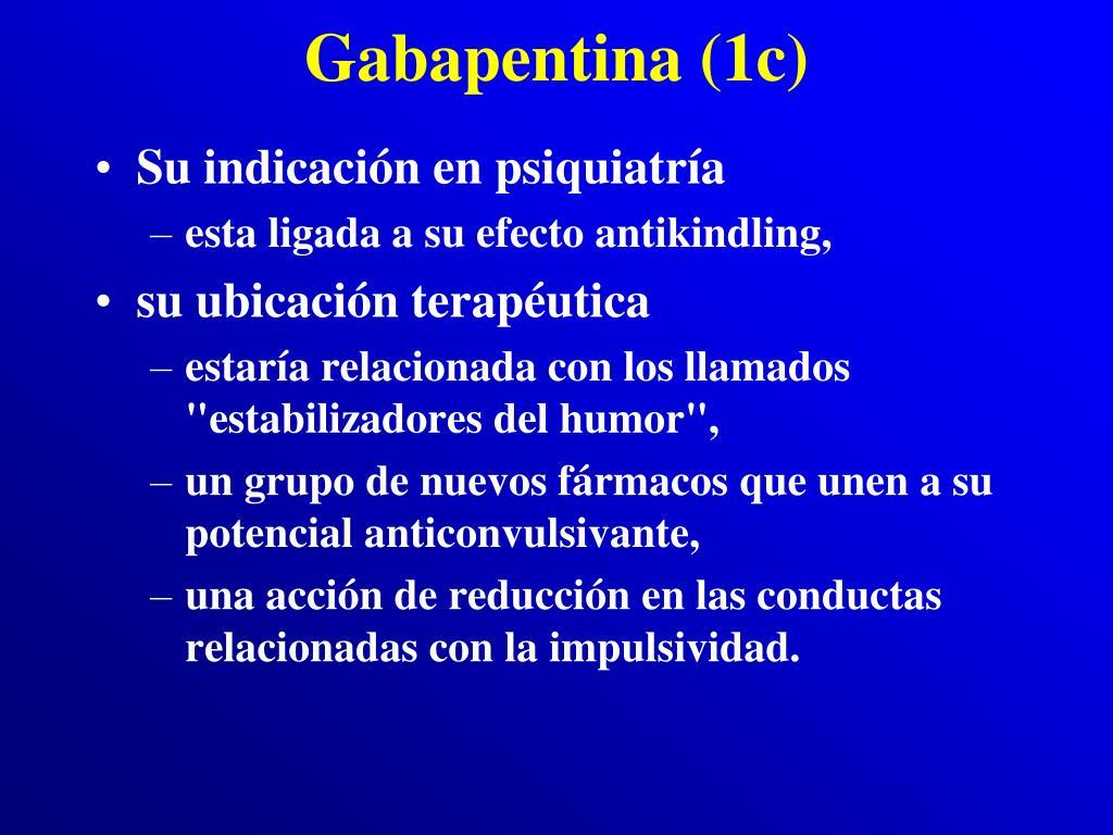 Gabapentina (1c)