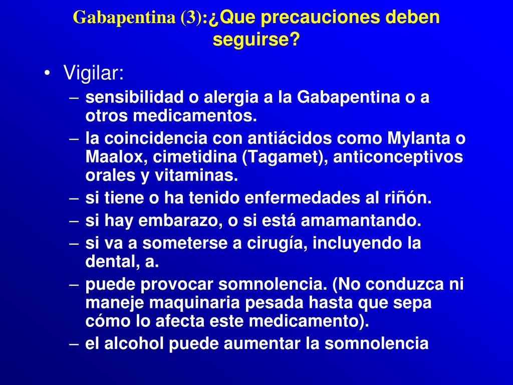 Gabapentina (3):