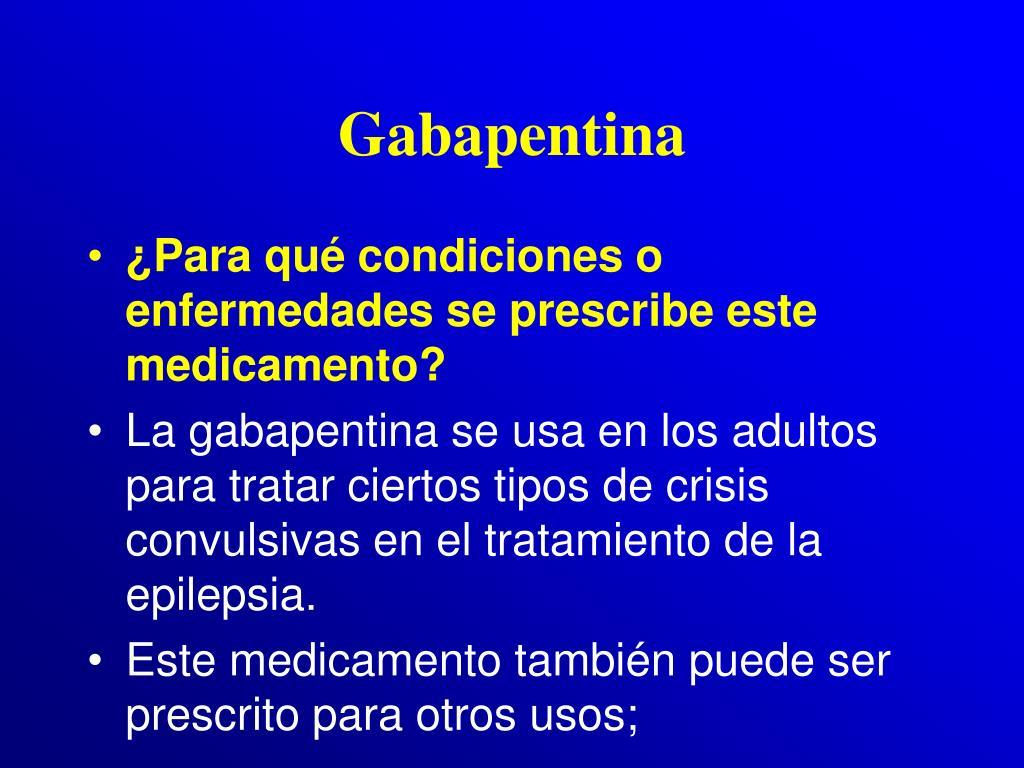 Gabapentina