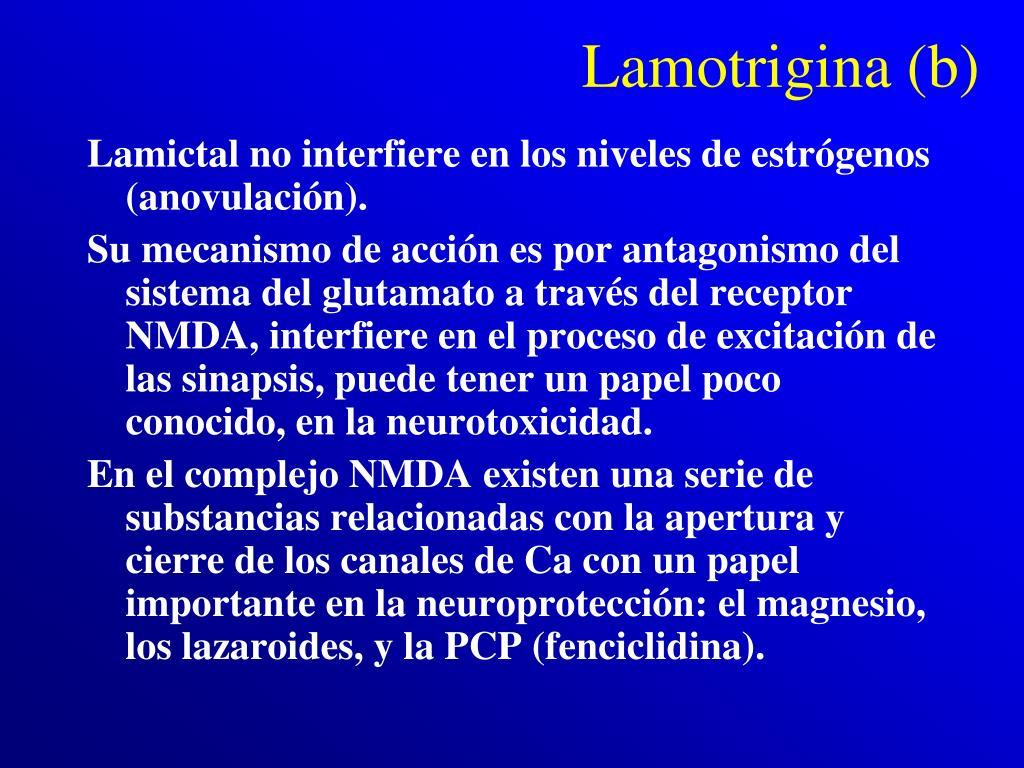 Lamotrigina (b)