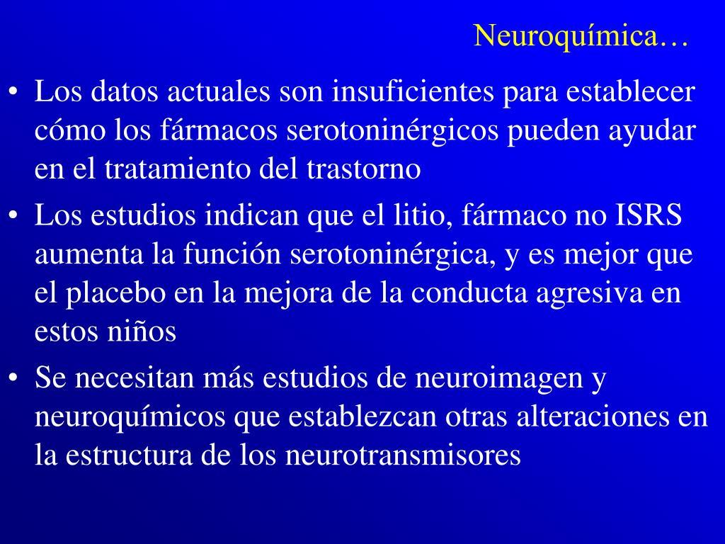 Neuroquímica…