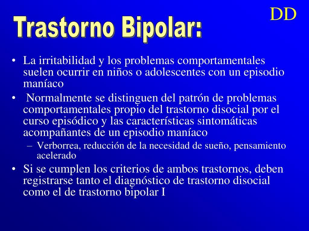 Trastorno Bipolar: