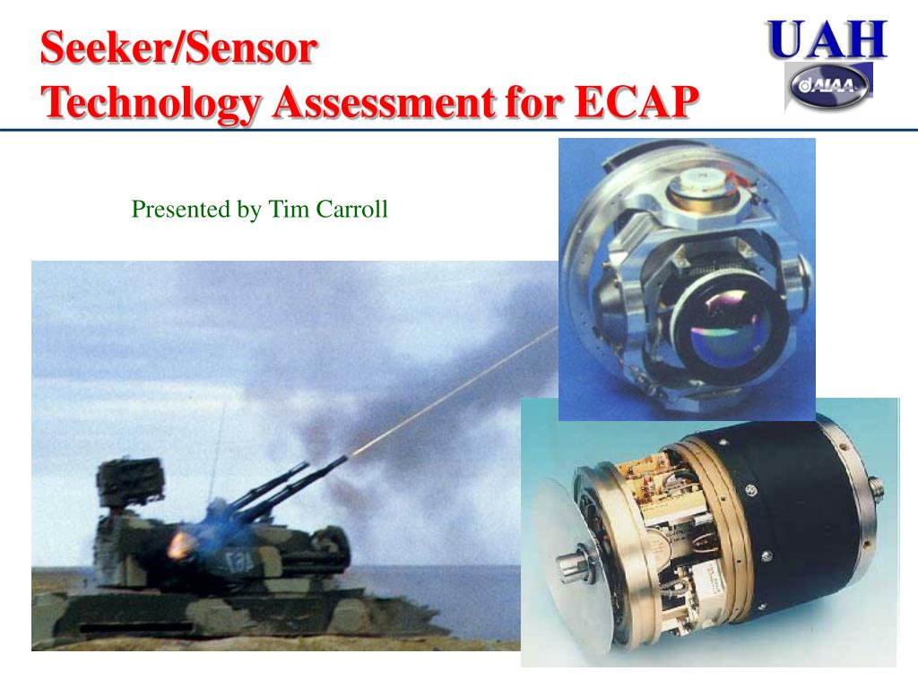 seeker sensor technology assessment for ecap l.