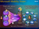 microsoft mobility vision