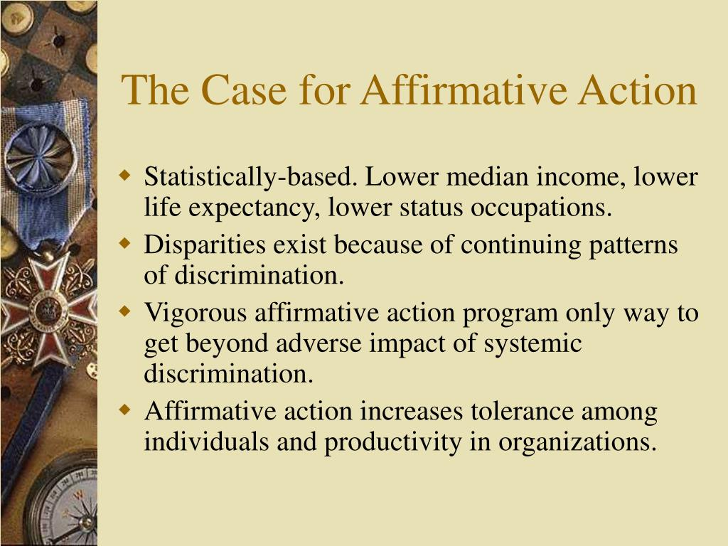 The Case for Affirmative Action