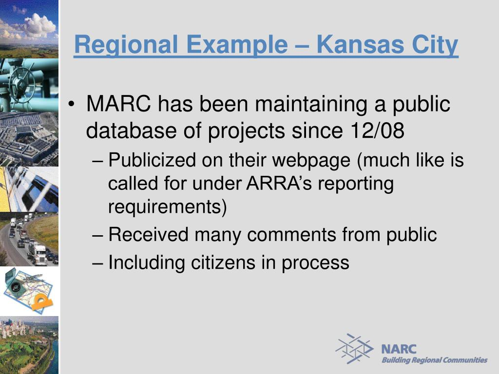Regional Example – Kansas City