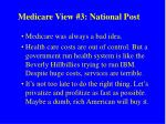 medicare view 3 national post