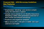 proposed eqa afb microscopy guidelines key features rechecking