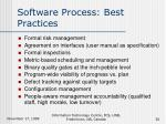 software process best practices30