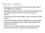 overview history