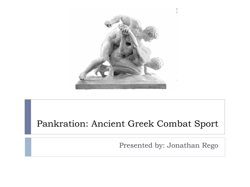pankration ancient greek combat sport l.