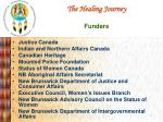 the healing journey funders