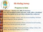 the healing journey progress to date14
