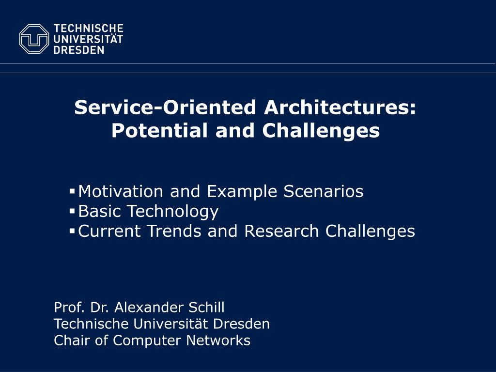 Service-Oriented Architectures:
