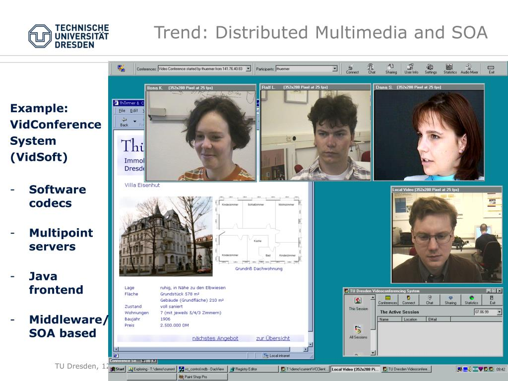 Trend: Distributed Multimedia and SOA