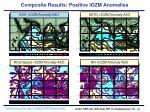 composite results positive iozm anomalies22
