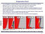evaporation duct6